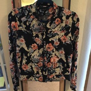Lightweight Floral Jacket